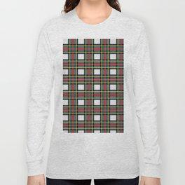 Minimalist Stewart Dress Tartan Modern Long Sleeve T-shirt