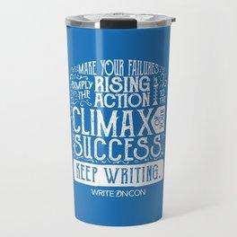 Keep Writing Travel Mug