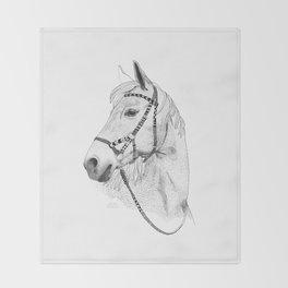 Inka horse Throw Blanket