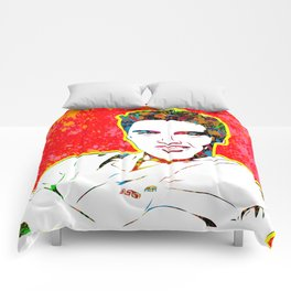 Elvis | Splatter Series | Presley | Pop Art Comforters