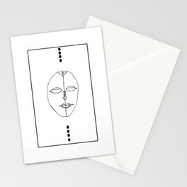 Unmask II Stationery Cards