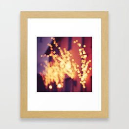 Bergamo Lights Framed Art Print