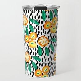 Citrus and Leaves II Travel Mug