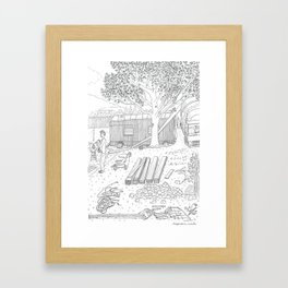 beegarden.works 015 Framed Art Print