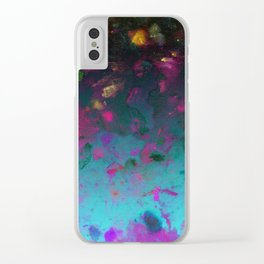 Colour Splash G529 Clear iPhone Case