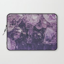 Amethyst Gem Dreams Laptop Sleeve