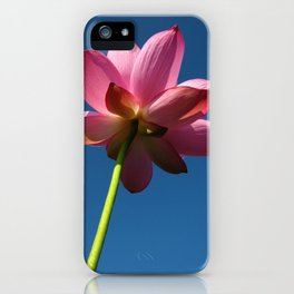 Lotus is holy and elegant iPhone Case