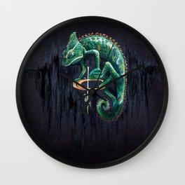 Scaly Creeper Wall Clock