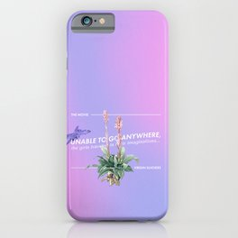 """Virgin Suicides Quotes """"Anywhere"""" iPhone Case"""