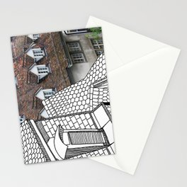 Rooftop Part II Pastiche  Stationery Cards