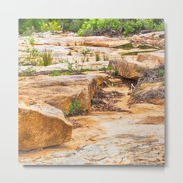 Beautiful sandstone view Metal Print