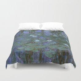 1916-Claude Monet- Blue Water Lilies-200 x 200 Duvet Cover
