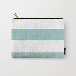 Maine Ocean Cabana Stripes Carry-All Pouch