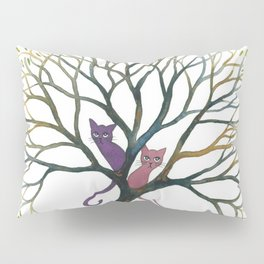 Maryland Whimsical Cats in Tree Pillow Sham