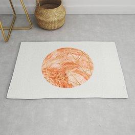 Peach Sphere Rug