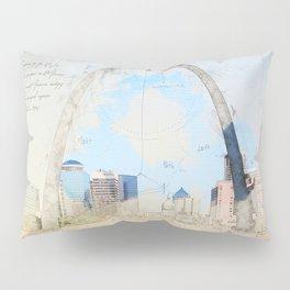Gateway Arch, Saint Louis USA Pillow Sham