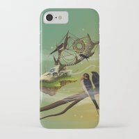 dreamcatcher iPhone & iPod Cases featuring DREAMCATCHER by ANVIK