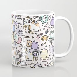Artsy Cats Coffee Mug