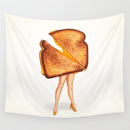 Grilled Cheese Sandwich Pin-Up Wall Tapestry