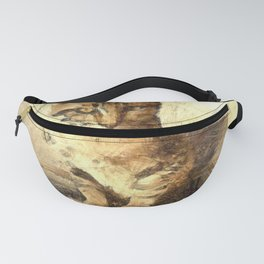 All Cats Are Black In The Dark Fanny Pack