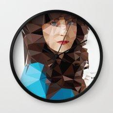Zooey Deschanel Wall Clock
