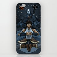 korra iPhone & iPod Skins featuring Korra by Alex Rodway Illustration