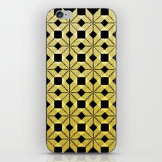 Golden Snow iPhone & iPod Skin