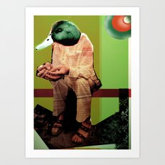 Donovan as Duckster Art Print