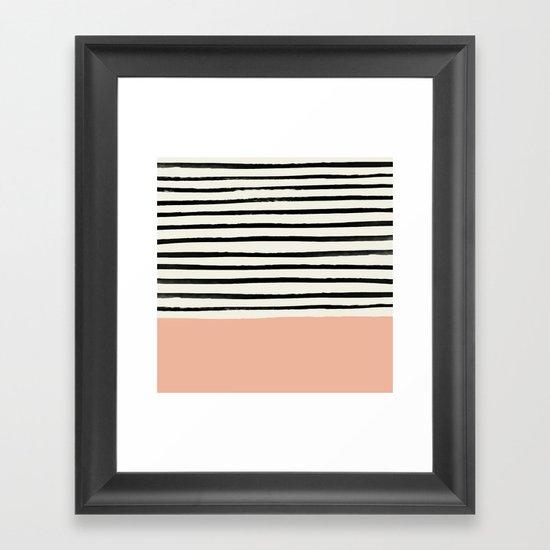 Peach x Stripes by floresimagespdx
