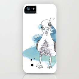 Steven Seagull iPhone Case