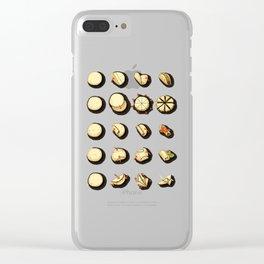 Tortilla Origami Clear iPhone Case