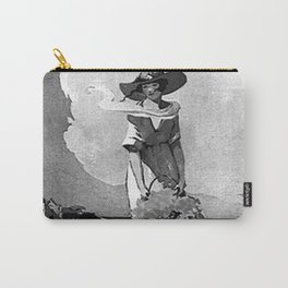 Lady by the Sea Carry-All Pouch