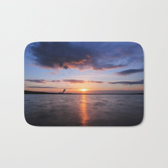 Beautiful Sundown Bath Mat