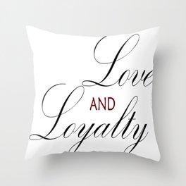 Love & Loyalty Throw Pillow