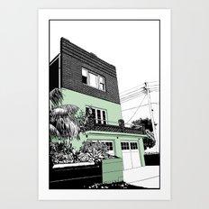 Coogee Art Print