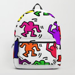 Keith Haring Figures Backpack
