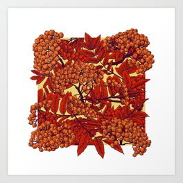 Leaves II Art Print