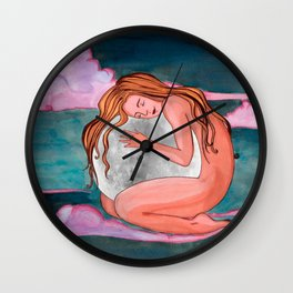 Moon Remember Wall Clock