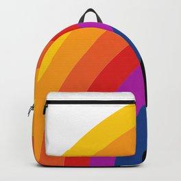 Retro Rainbow - Left Backpack
