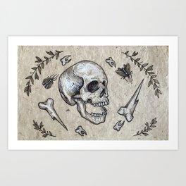 King of Nowhere Art Print
