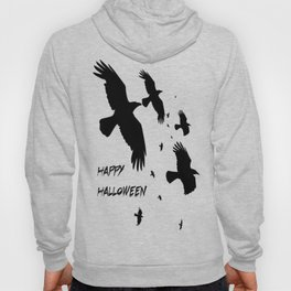 Happy Halloween Murder of Crows  Hoody