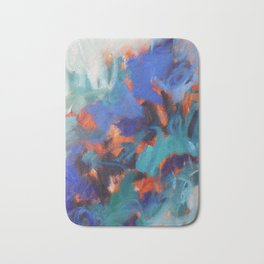 Sea Fire Bath Mat