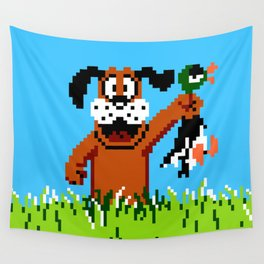 Duck Hunt Wall Tapestry