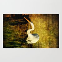 fishing Area & Throw Rugs featuring Fishing by JMcCool