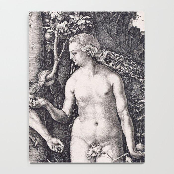 Adam and Eve by Albrecht Dürer Notebook