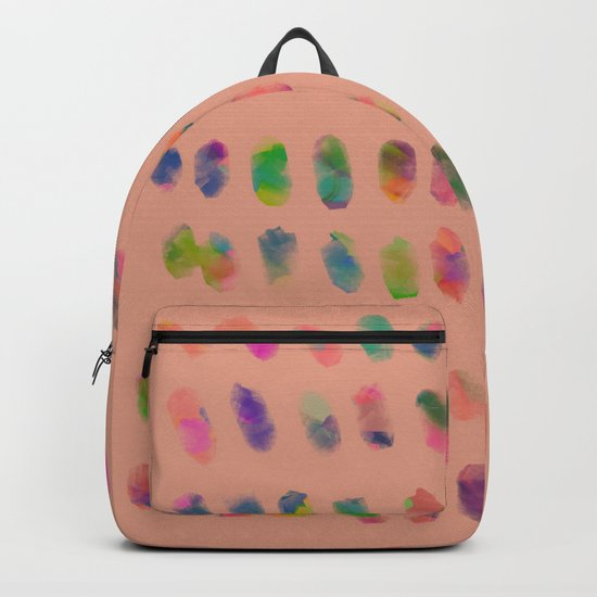 Magic Peach Spring Backpack