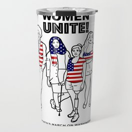 Women Unite Travel Mug