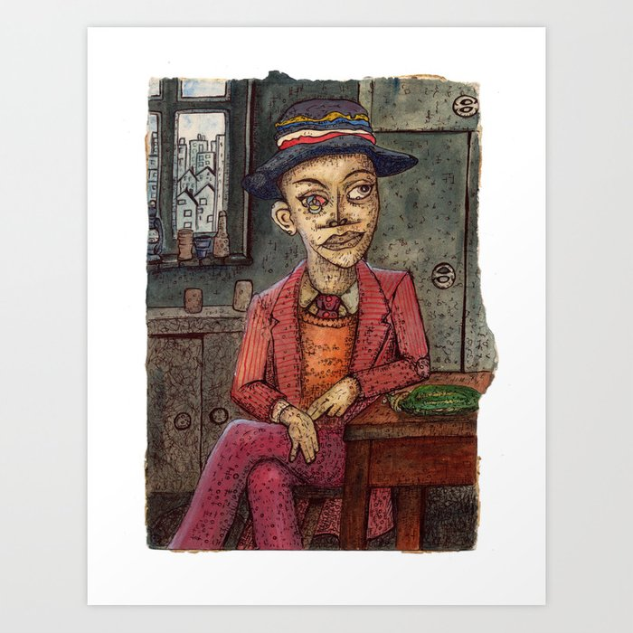 20th Century Dickensian Dodger Art Print