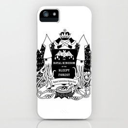 The Royal Kingdom of the Sleepy Forest iPhone Case