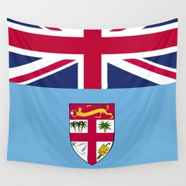 Fiji flag emblem Wall Tapestry